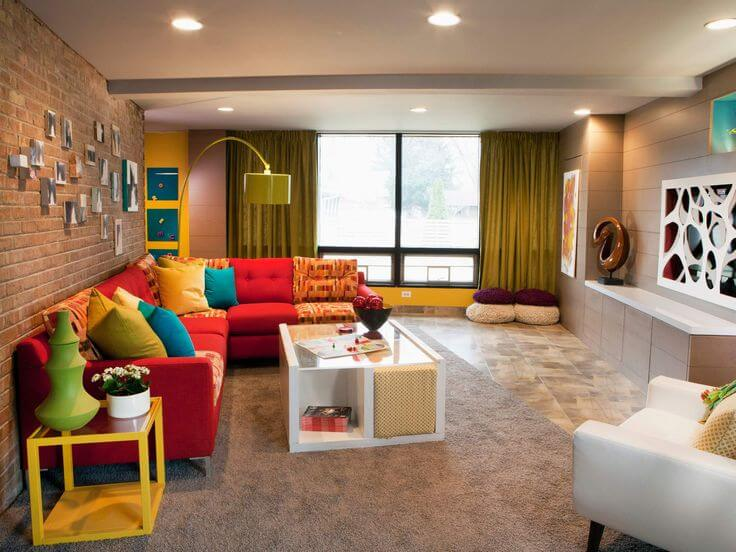 Decorating a kid friendly living room Family friendly living room decorating ideas