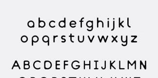menggunakan font