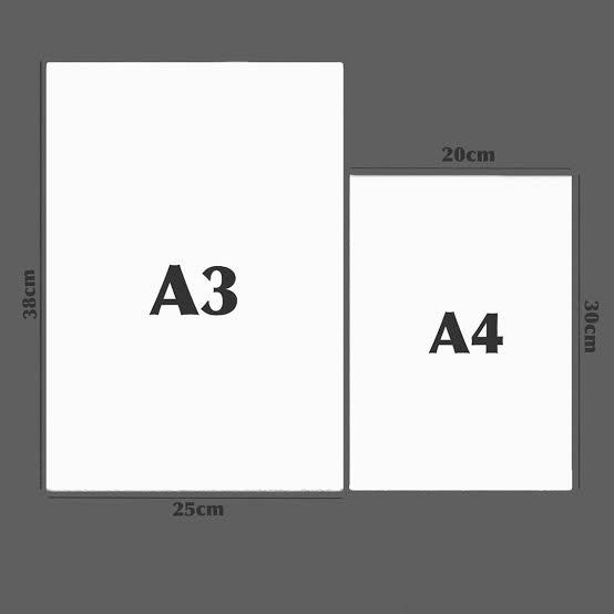 Perbedaan Ukuran Kertas A3 Plus Dengan A3 Yang Harus Diketahui Uprint Id
