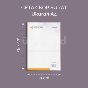 Kop Surat - Ukuran A4 (Offset)