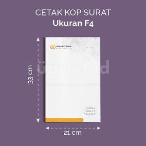 Kop Surat - Ukuran F4 (Offset)