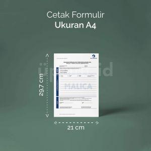 Formulir - Ukuran A4 (Digital)