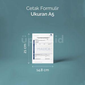 Formulir - Ukuran A5 (Digital)