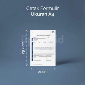 Formulir - Ukuran A4 (Offset)