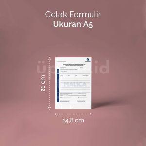 Formulir - Ukuran A5 (Offset)
