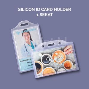 Silicon Case Id Card - 1 Sekat