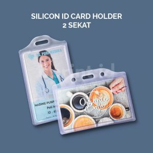 Silicon Case Id Card 2 Sekat