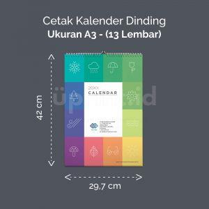 Kalender Dinding Premium A3 - 13 Lembar