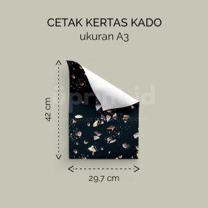 Kertas Kado - Ukuran A3 (Cetak Digital)