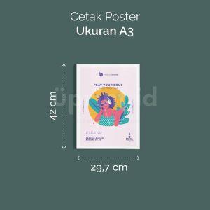 Poster - A3 (Cetak Offset)
