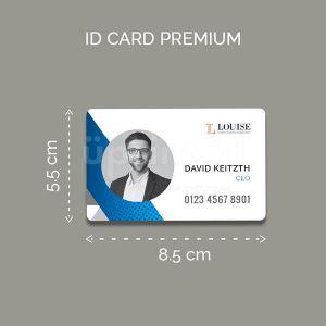 ID Card - Bahan PVC Premium 8.5 x 5.5 cm