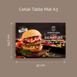 Table Mat Ukuran A3
