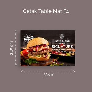 Table Mat Ukuran F4
