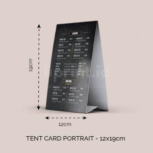 Tent Cart Portrait - 12 x 19.5 cm