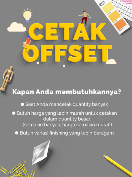 Cetak Newsletter A5 Offset